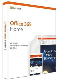 MICROSOFT OFFICE 365 Home PL 30x PC/MAC/iOS/And