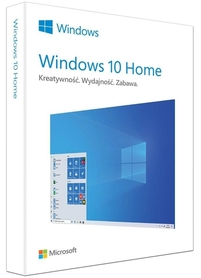 Microsoft Windows 10 Home PL 32/64bit BOX USB SKLEP WAWA 24H