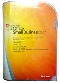 Microsoft Office 2007 Small Business BOX PL 2PC
