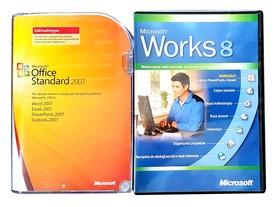 Microsoft Office 2007 Standard Uaktualnienie BOX PL 2PC