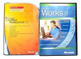 Microsoft Office 2007 Professional Uaktualnienie BOX PL 2PC