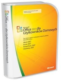 Microsoft Office 2007 Dom i Uczeń 3xPC BOX PL