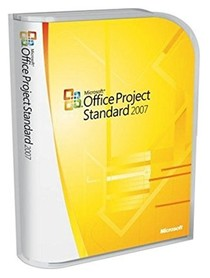 Microsoft Office Project Standard 2007 2xPC BOX PL