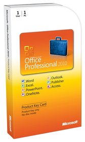 Microsoft Office Professional 2010 PKC OEM PL