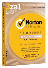 Symantec Norton Security Deluxe 3 urządzenia BOX PL