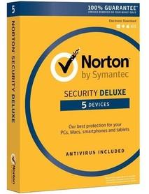 Symantec Norton Security Deluxe 5 urządzeń BOX PL