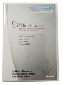 Microsoft Office 2007 Basic dla firm MLK OEM PL