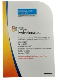 Microsoft Office 2007 Professional PRO MLK PL