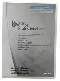 Microsoft Office 2007 Professional PRO MLK OEM PL