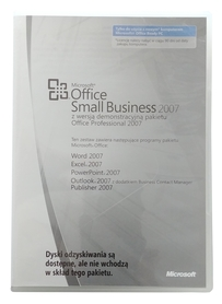 Microsoft Office 2007 Small Business SBE MLK OEM PL