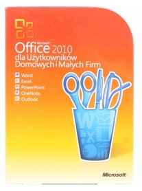 MICROSOFT OFFICE 2010 Home and Business 2xPC BOX PL