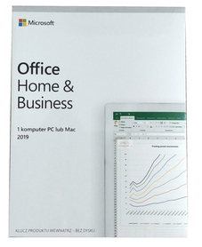 MICROSOFT OFFICE 2019 Home and Business BOX PL PKC