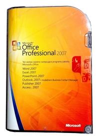 Microsoft Office 2007 Professional BOX PL 2PC