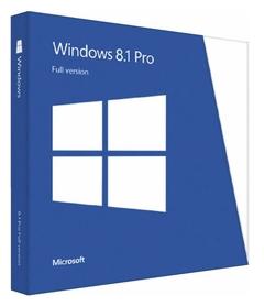 Microsoft Windows 8.1 Pro PL 32/64bit BOX DVD