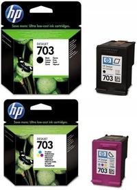 2x HP TUSZ DESKJET INK ADVANTAGE K209G K510a K209