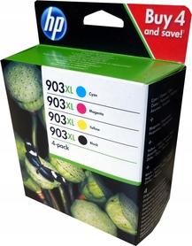 Zestaw 4 tuszy HP 903XL 6950 6960 6970