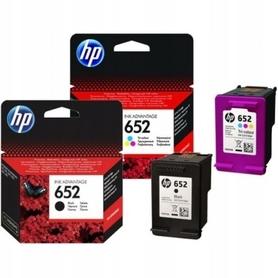 2 HP 652 DO DESKJET INK ADVANTAGE 4535 4675 2136