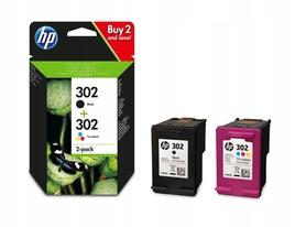 2HP 302 drukarki 2130 1110 3630 envy DeskJet tusz
