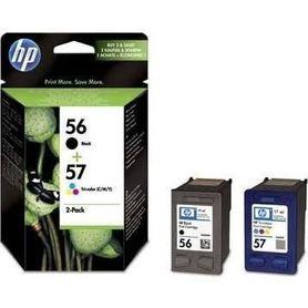 NOWY TUSZ HP 56+57 C6656AE+C6657AE ORYGINAŁ FV