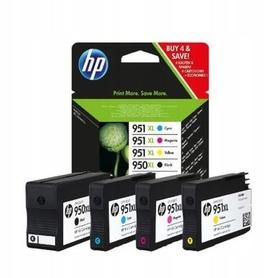 Zestaw 4 tuszy HP 950XL + 951XL C2P43AE CMYK