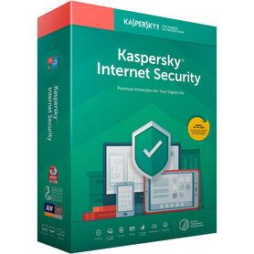 Kaspersky Internet Security 2 Urządzenia 1 Rok BOX PL
