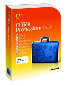 Microsoft Office Professional 2010 2xPC BOX PL
