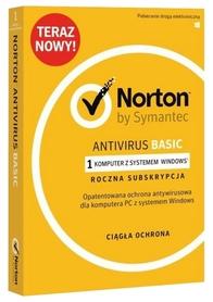 Norton Antivirus Basic 1 PC 1 ROK BOX PL