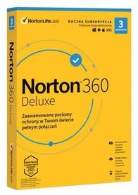Norton 360 Deluxe 3 urządzenia VPN 25GB BOX PL