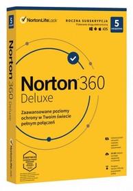 Norton 360 Deluxe 5 urządzeń VPN 50GB BOX PL