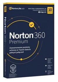 Norton 360 Premium 10 urządzeń VPN 75GB BOX PL