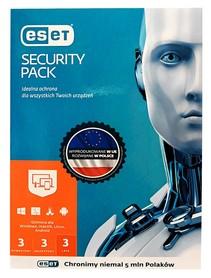 ESET Security Pack 3 komputery + 3 urządzenia mobilne 3 LATA KONTYNUACJA BOX PL